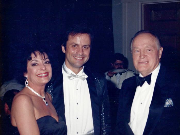 Bob Hope and Nenad Mirkovich