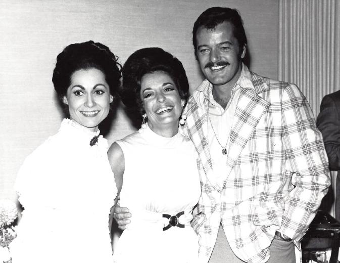 Carol Lawrence and Robert Goulet