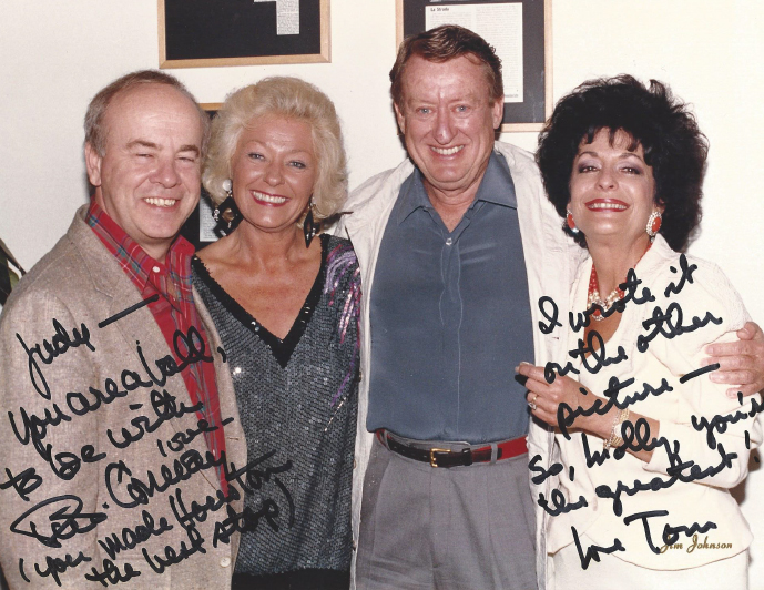 Tim Conway and Tom Poston